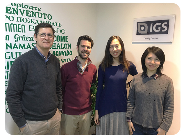Equipo IGS Barcelona